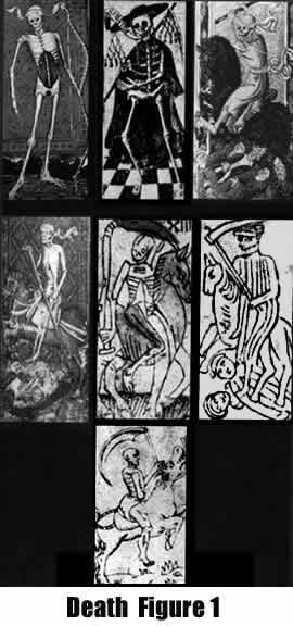 Early 15/16th Century Death Card