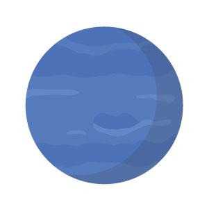 Planet Neptune Glyph