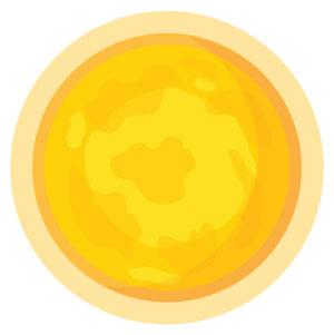 Planet Sun Glyph