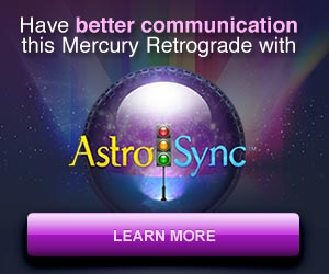 Have better communication this Mercury Retrograde with AstroSync. Learn more!