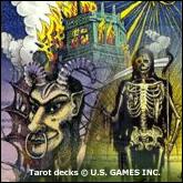 Spooky Tarot Cards