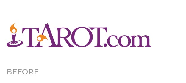 Tarot.com Logo Before