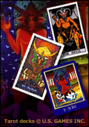 The Devil: Tarot Cards copyright U.S. GAMES Inc.