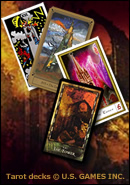 The Tower: Tarot Cards copyright U.S. GAMES Inc.