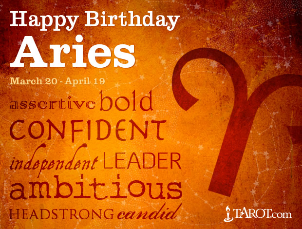 Happy Birthday, Aries!