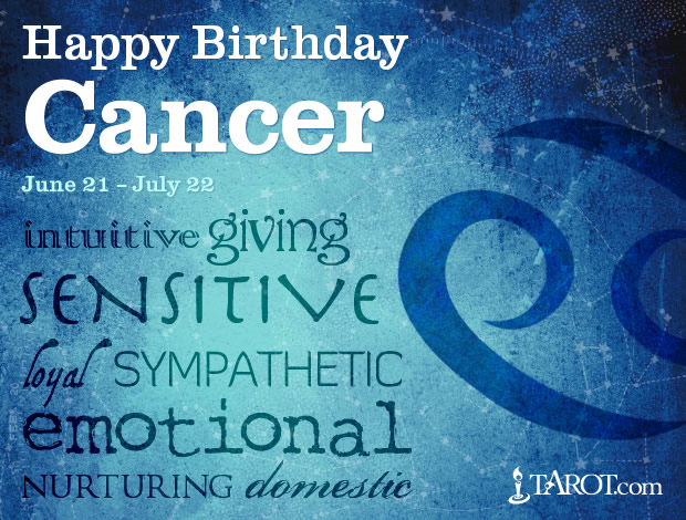 Happy Birthday, Cancer