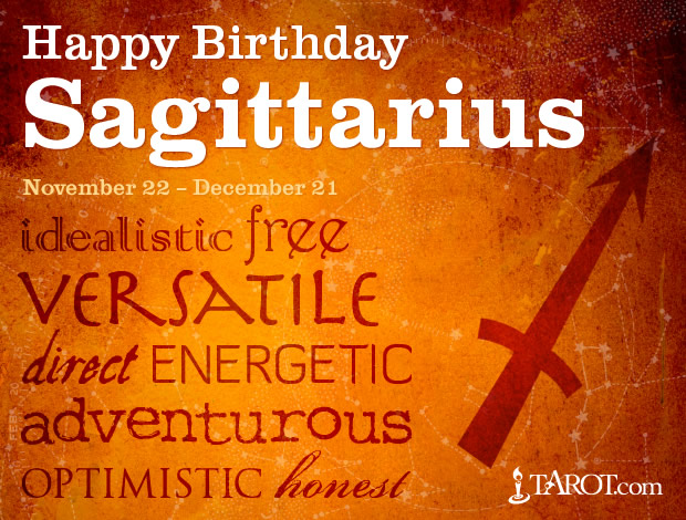 Happy Birthday, Sagittarius