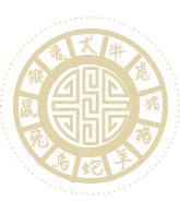 The Chinese Zodiac wheel.