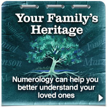 Family Tree Numerology Report
