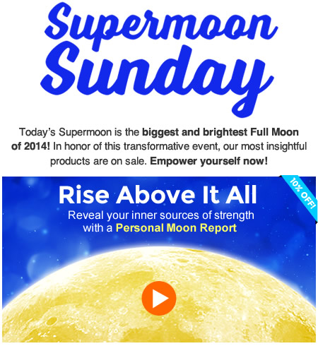 Reveal your inner sources of strength with a Personal Moon Report