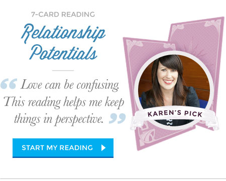 Relationship Potentials Tarot reading