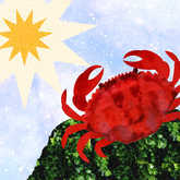 cancer crab and sun