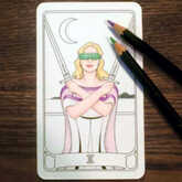 coloring deck cards