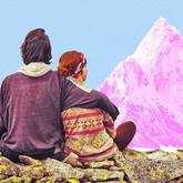couple on mountain