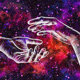 Hands in space