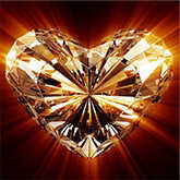 heart shaped diamond