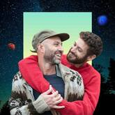 men hugging