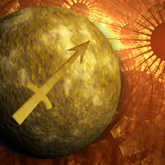 mercury with sagittarius symbol