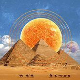 Sun over pyramids