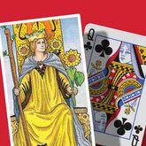 Queen of Wands & Queen of Clubs
