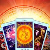 tarot cards horoscope sun
