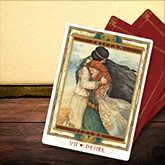 tarot isolde tristan card spread