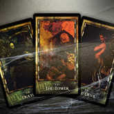 Spooky Tarot Cards: The Devil, Death and The Tower