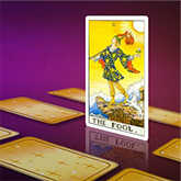 tarot and the fool card