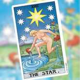 Star Tarot card and Aquarius
