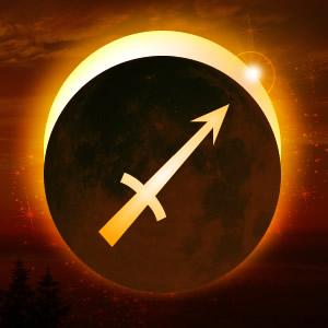 New moon in Sagittarius: adjustments and exploration Solar-eclipse-partial-sag-300x300