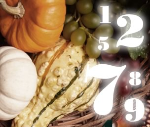 Thanksgiving Numerology
