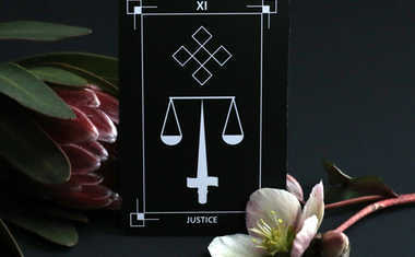 This Month's Tarot Card Is Justice!