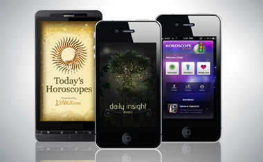 Tarot.com iPhone, iPad and Android Apps