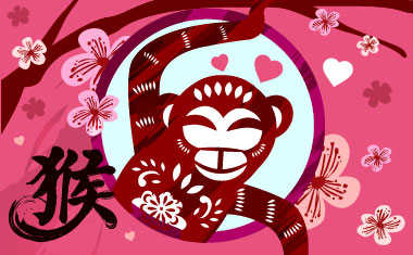 year of the red fire monkey