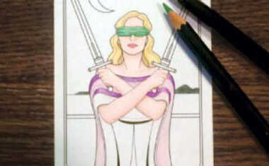 Color Your Own Tarot Deck!