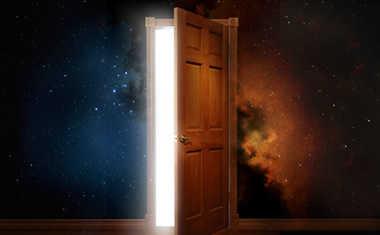 cosmic door