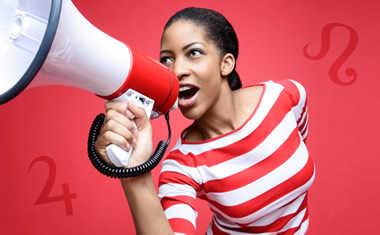female megaphone
