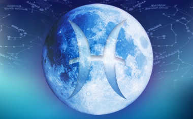 full moon in pisces: moon pisces symbol