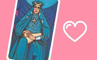 high priestess tarot compatibility