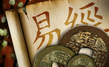toss i ching coins