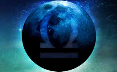 new moon in libra: dark moon libra sign symbol