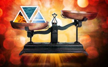 an imbalance of elemental energy