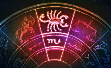 scorpio zodiac wheel