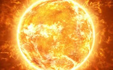 Massive Solar Storm Flares