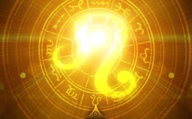 shining leo zodiac symbol