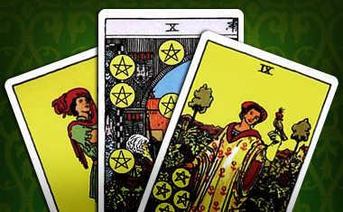 pentacles tarot cards