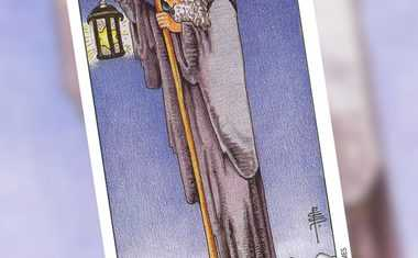 Virgo and the Hermit Tarot card video