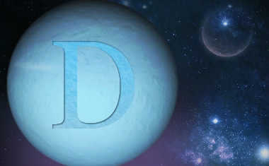 uranus with direct symbol