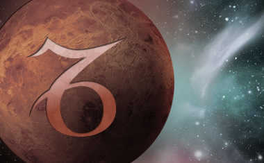 planet venus with capricorn symbol