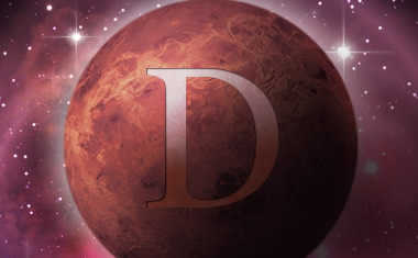 Venus with direct symbol
